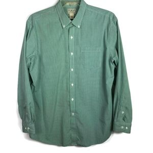 LL Bean Traditional Fit Wrinkle Resistant Shirt